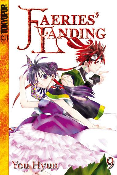 Faeries' Landing 9 - Das Cover