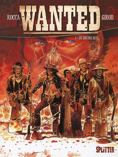 Wanted 1: Die Brüder Bull - Das Cover