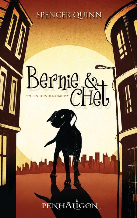 Bernie & Chet: Ein Hundekrimi - Das Cover
