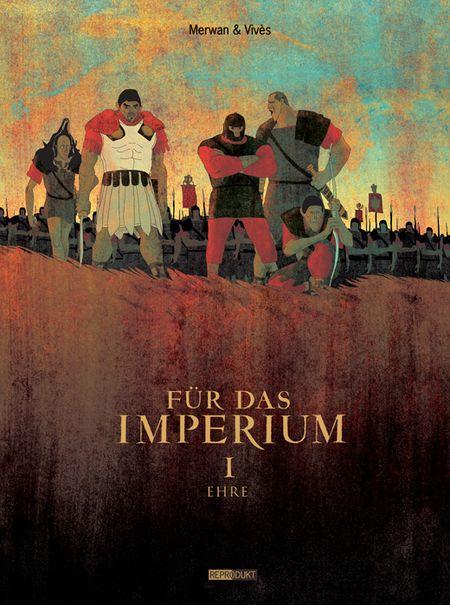 Für das Imperium 1: Ehre - Das Cover