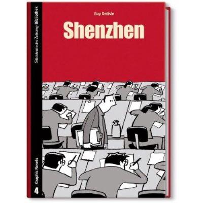 SZ Bibliothek Graphic Novels 4: Shenzhen - Das Cover