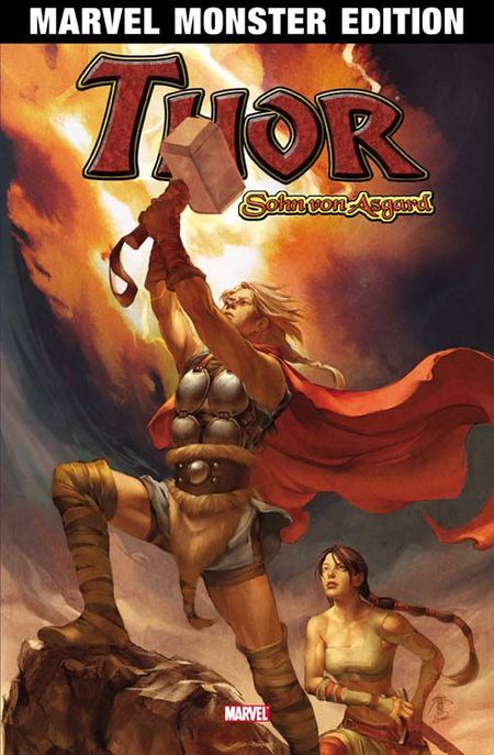 Marvel Monster Edition 37: Thor - Sohn von Asgard - Das Cover