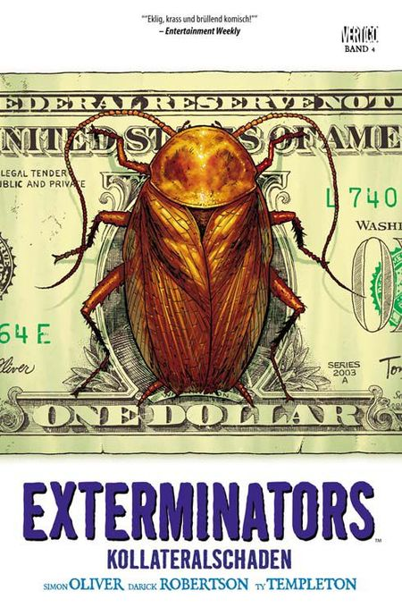 Exterminators 4: Kollateralschaden - Das Cover