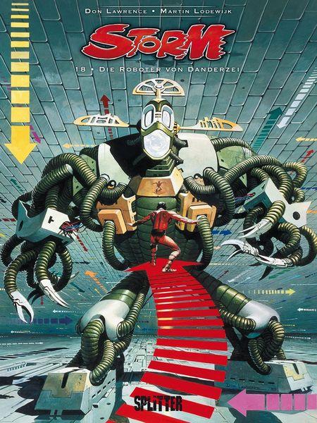 Storm 18: Die Roboter von Danderzei - Das Cover