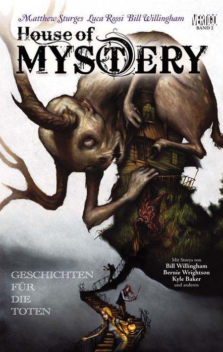 House of Mystery 2: Liebesgeschichten für die Toten - Das Cover
