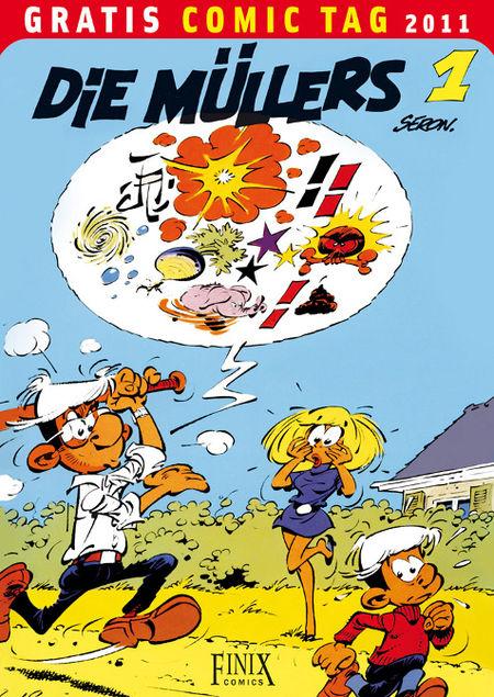 Die Müllers 1 - Gratis Comic Tag 2011 - Das Cover