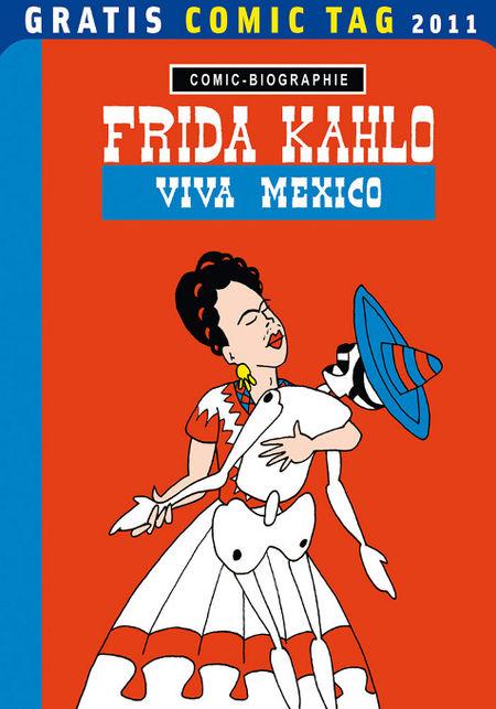 Frida Kahlo – Viva Mexico – Gratis Comic Tag 2011 - Das Cover