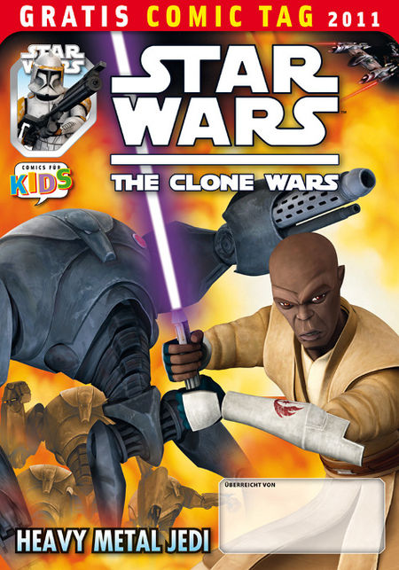 Star Wars The Clone Wars – Gratis Comic Tag 2011 - Das Cover