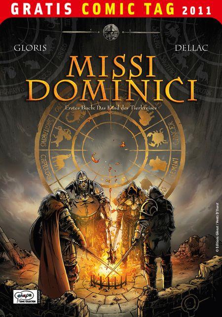 Missi Dominici 1: Das Kind des Tierkreises - Gratis Comic Tag 2011 - Das Cover