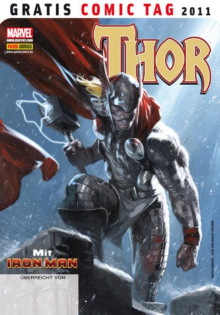 Thor mit Iron Man - Gratis Comic Tag 2011 - Das Cover
