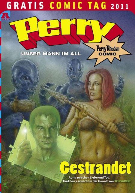 Perry – Unser Mann im All – Gratis Comic Tag 2011 - Das Cover