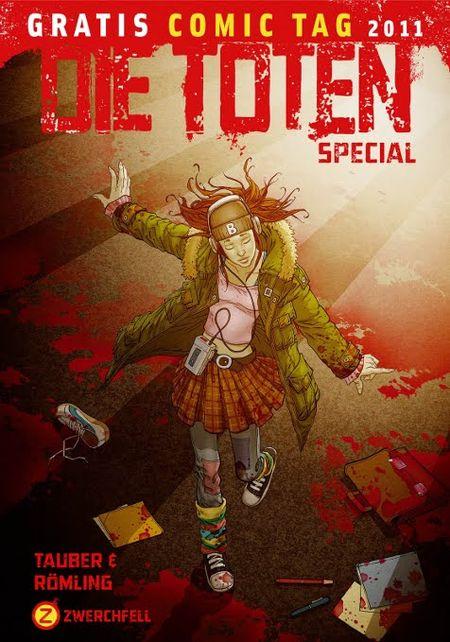 Die Toten (Special) - Gratis Comic Tag 2011 - Das Cover