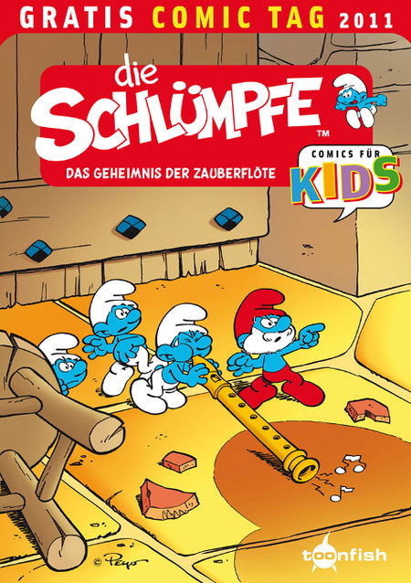 Die Schlümpfe - Gratis Comic Tag 2011 - Das Cover