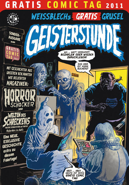 Weissblechs Gratis-Grusel-Geisterstunde - Gratis Comic Tag 2011 - Das Cover