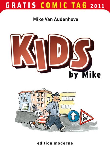KIDS by Mike - Gratis-Comic-Tag 2011 - Das Cover