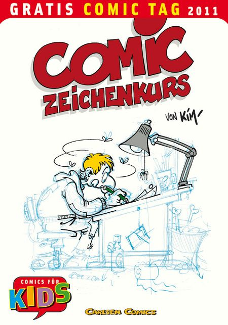 Comic-Zeichenkurs - Gratis-Comic-Tag 2011 - Das Cover