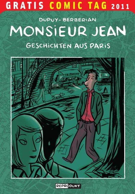 Monsieur Jean - Gratis-Comic-Tag 2011 - Das Cover