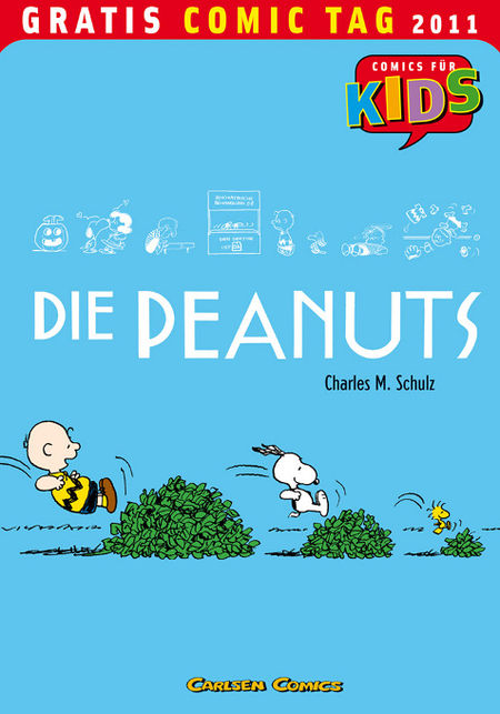 Die Peanuts - Gratis Comic Tag 2011 - Das Cover