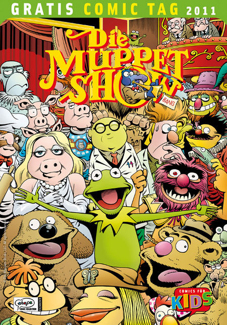 Die Muppet Show - Gratis Comic Tag 2011 - Das Cover