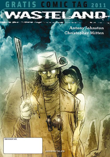 Wasteland - Gratis Comic Tag 2011 - Das Cover
