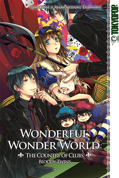 Wonderful Wonder World: The Country of Clubs 1 Bloody Twins - Das Cover
