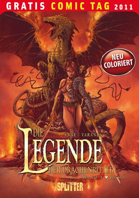 Die Legende der Drachenritter - Gratis-Comic-Tag 2011 - Das Cover