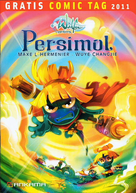 Wakfu Heroes: Persimol / Dofus - Gratis Comic Tag 2011 - Das Cover