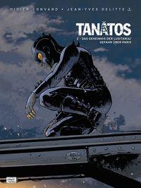 Tanatos 2: Das Geheimnis der Lusitania / Gefahr über Paris - Das Cover