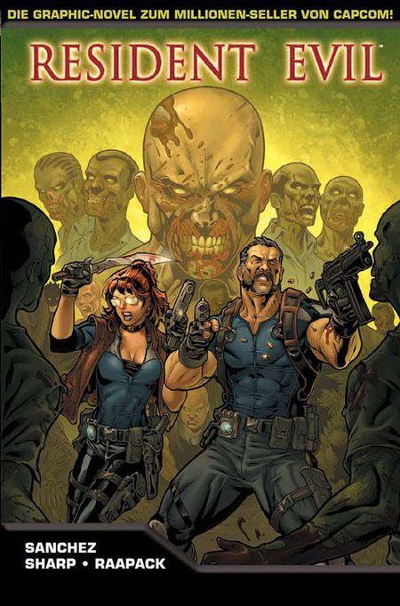 Resident Evil - Die Geisel - Das Cover