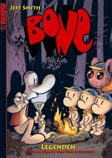 Bone: Legenden - Das Cover