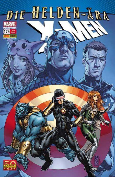 X-Men 125 - Das Cover