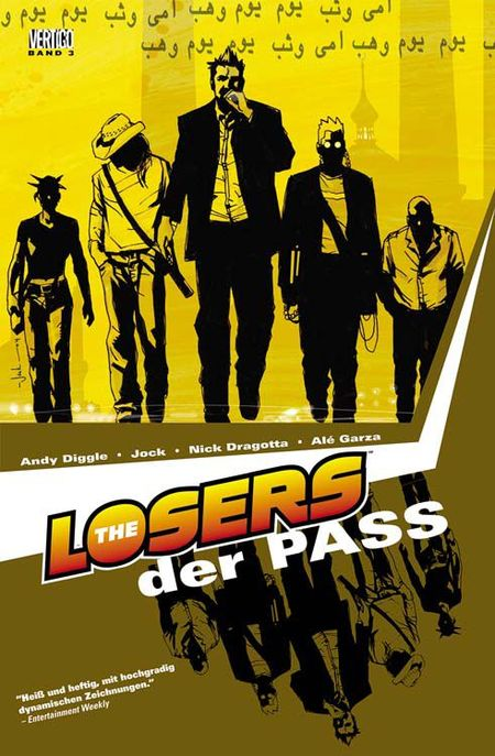 The Losers 3: Der Pass - Das Cover