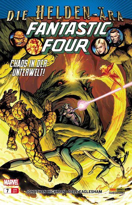 Fantastic Four 7: Primelemente - Das Cover