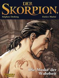 Der Skorpion 9: Die Maske der Wahrheit - Das Cover