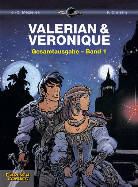 Valerian & Veronique Gesamtausgabe 1  - Das Cover