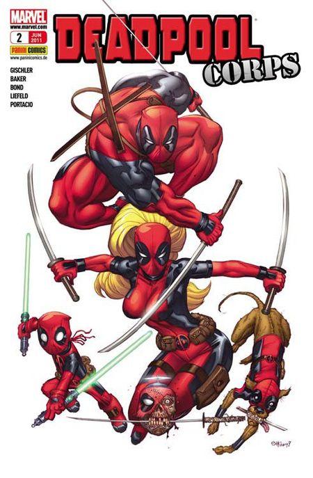 Deadpool Sonderband 2: Deadpool Corps - Das Cover
