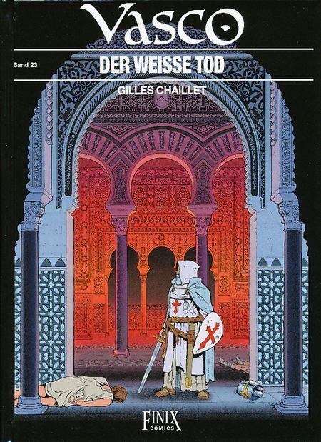 Vasco 23: Der weisse Tod - Das Cover