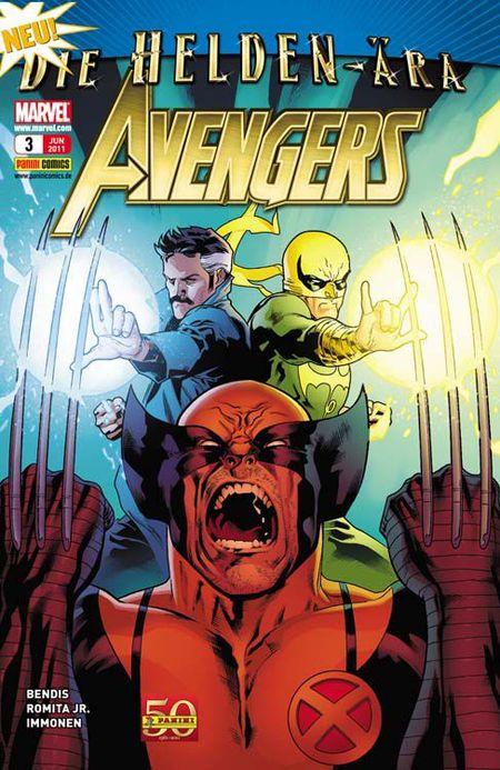Avengers 3 - Das Cover