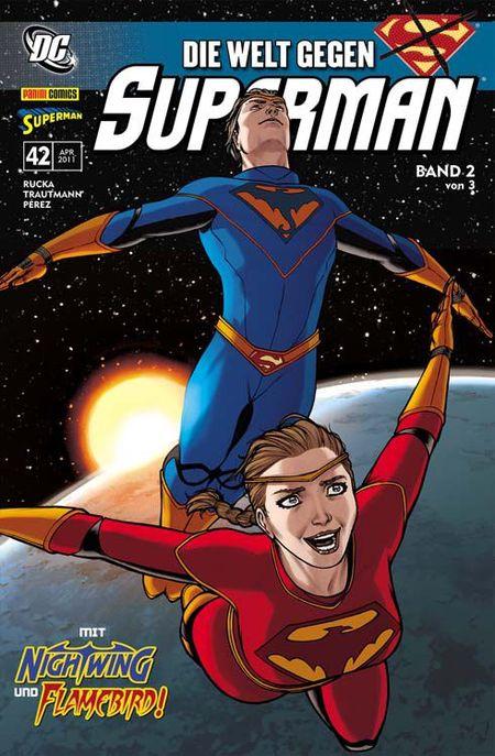 Superman Sonderband 42: Die Welt gegen Superman Band 2 - Das Cover