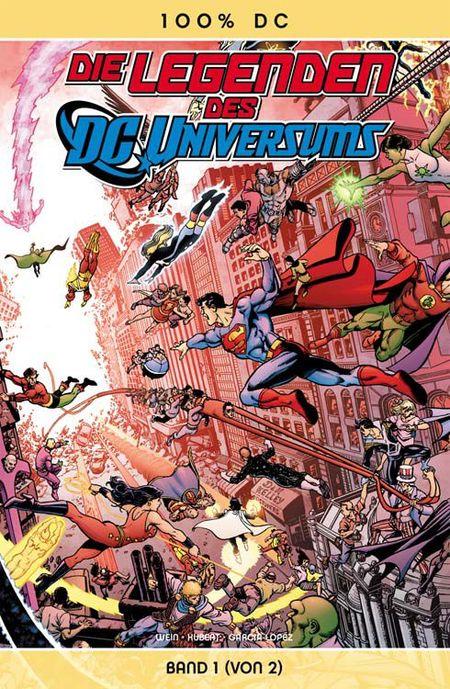 100% DC 29: Die Legenden des DC-Universums 1 - Das Cover