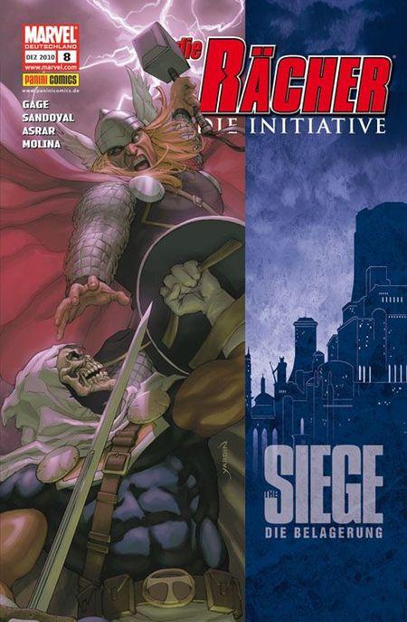 Die Rächer - Die Initiative 8: The Siege - Das Cover
