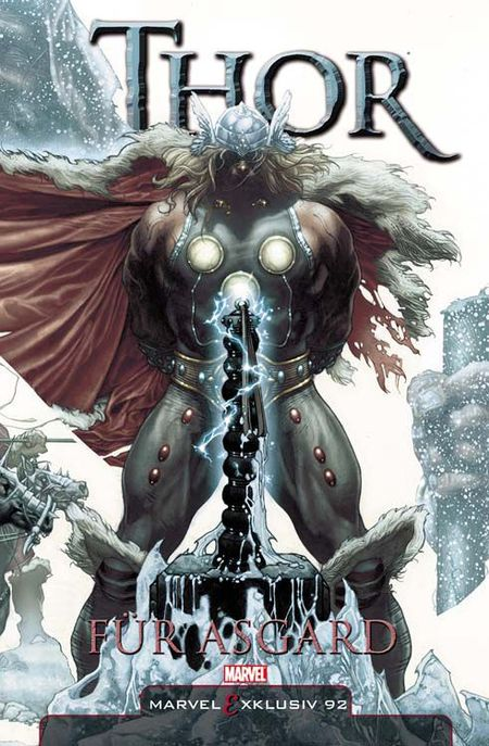 Marvel Exklusiv 92: Thor - Für Asgard  - Das Cover