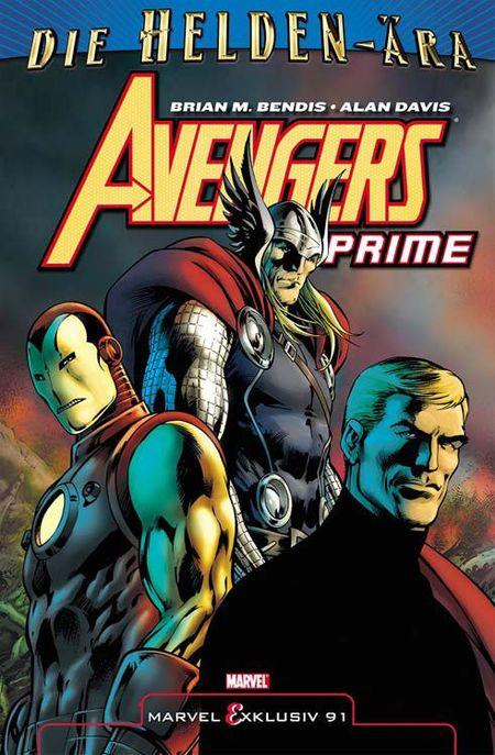Marvel Exklusiv 91: Avengers Prime SC - Das Cover