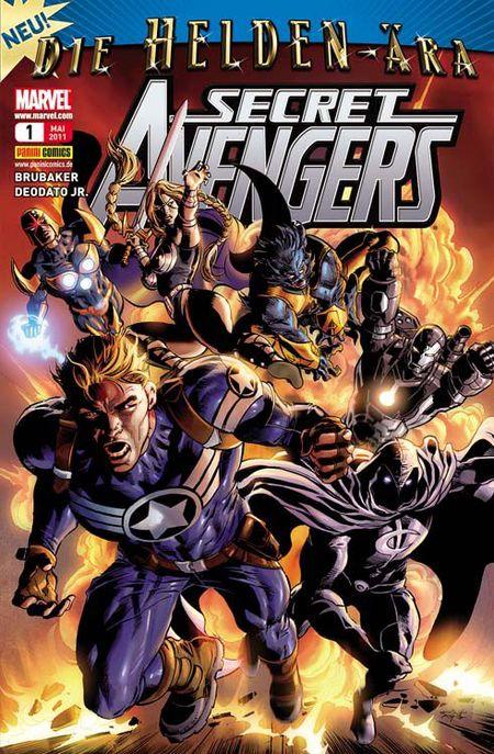 Secret Avengers 1: Geheime Entwicklung - Das Cover
