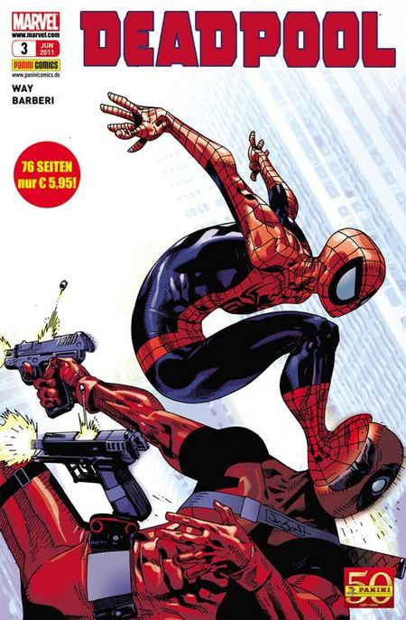 Deadpool 3 - Das Cover