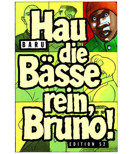 Hau die Bässe rein, Bruno! - Das Cover