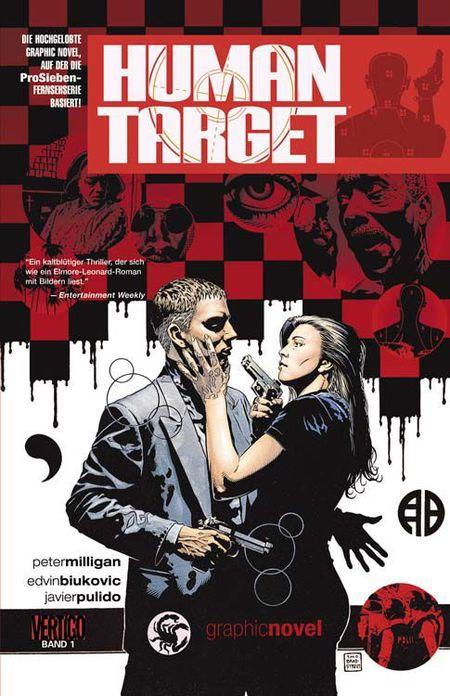 Human Target - Band 1 - Das Cover