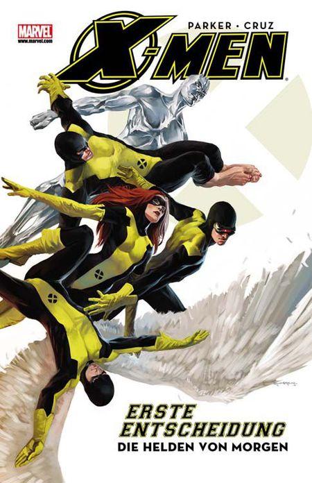 X-Men: Erste Entscheidung - Band 1 - Das Cover