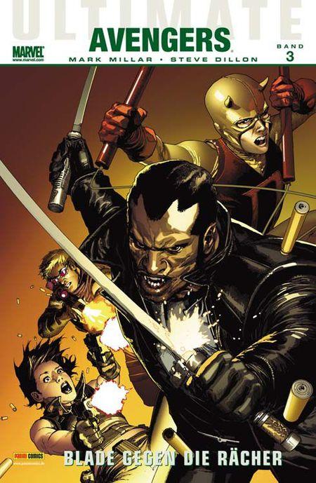Ultimate Avengers 3: Blade gegen die Rächer - Das Cover