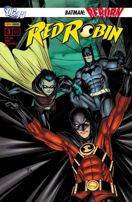 Red Robin 3: Die Rache der Mordliga - Das Cover